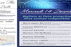 BigData & Data Protection : Deux notions compatibles ?